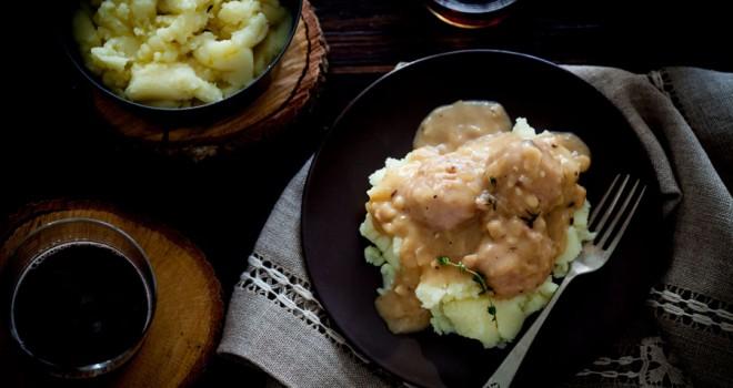 Albóndigas de pollo y pavo