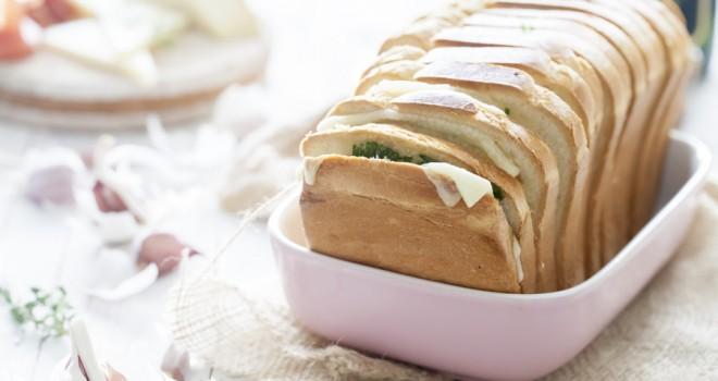 Pan de ajo y queso para dummies