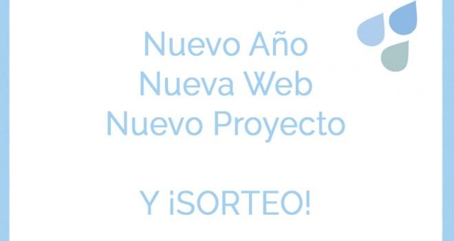 Nueva web, nuevo proyecto y ¡SORTEO!