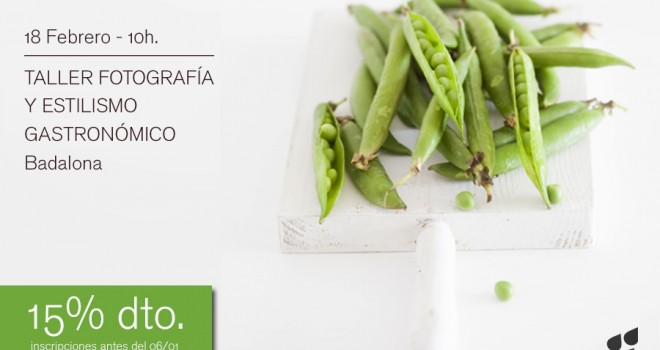 Nuevo taller fotografía y estilismo gastronómico